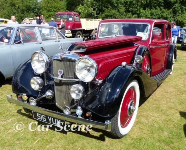 1930s Alvis Speed 20 front three quarters view