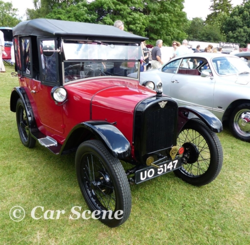 1924 Austin 7 Cabriolet front three quarters view