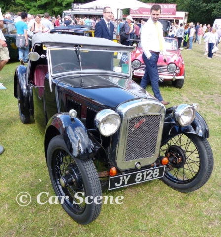 1934 Austin 7 Nippy front view