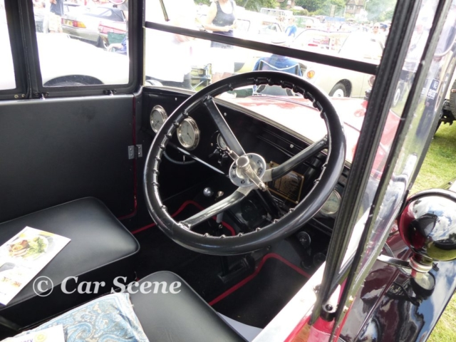 1924 Austin 7 Cabriolet Interior view