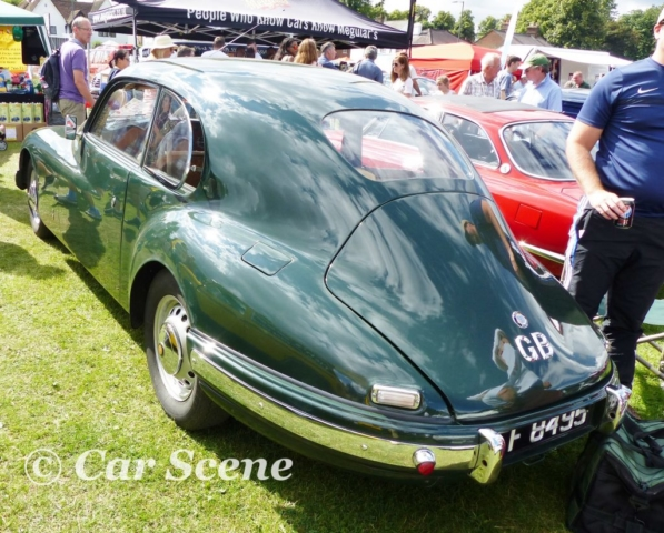 1951 Bristol 501 rear view
