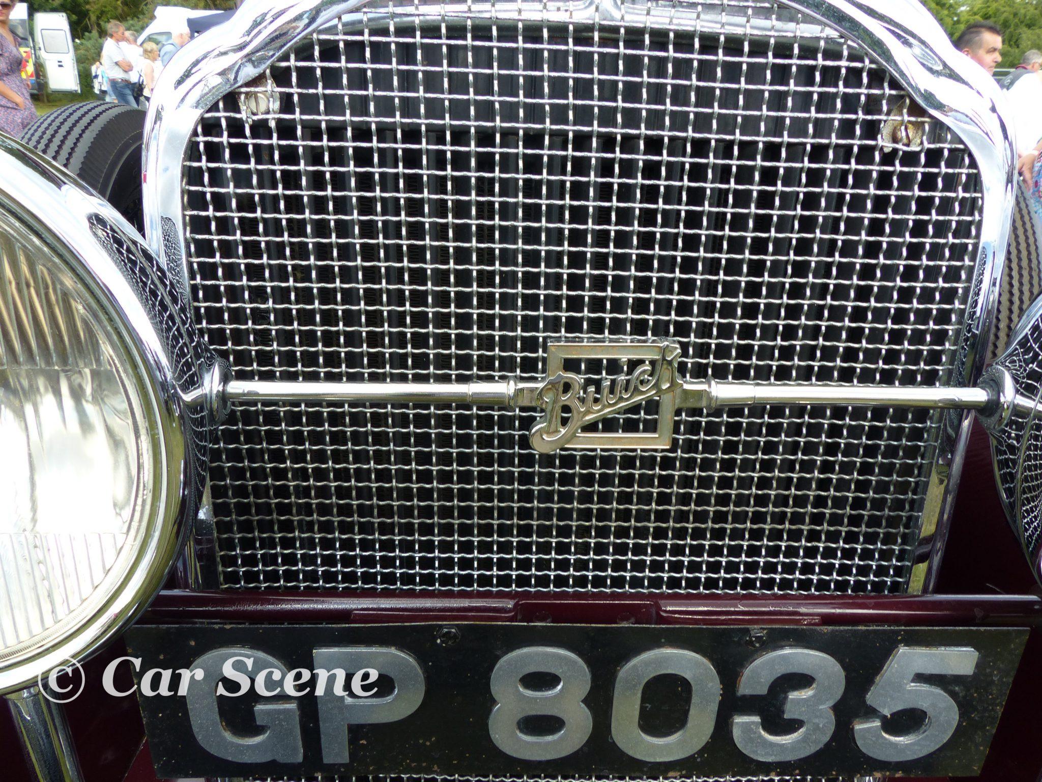 1931 Buick 4 Door Sedane grille badge