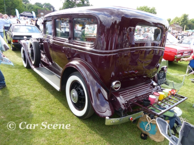 1931 Buick 4 Door Sedan rear view