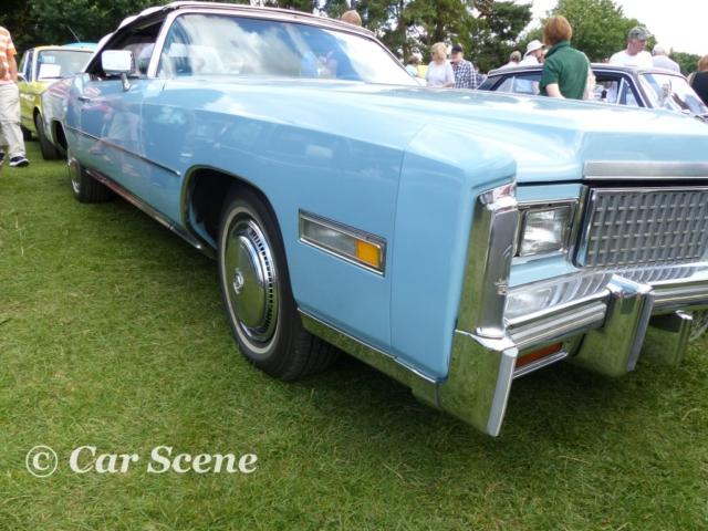 1975 Cadillac Eldorado front side view