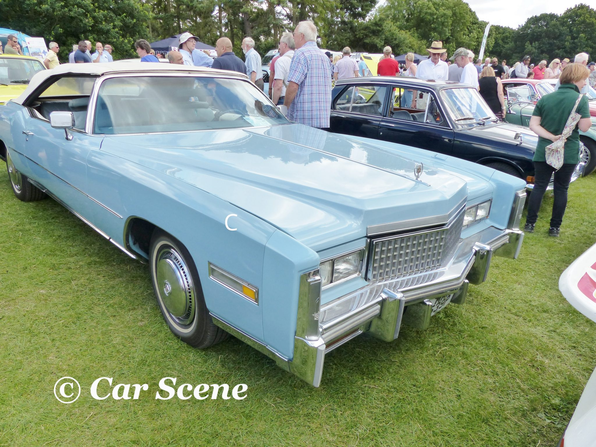 1975 Cadillac Eldorado front three quarters view