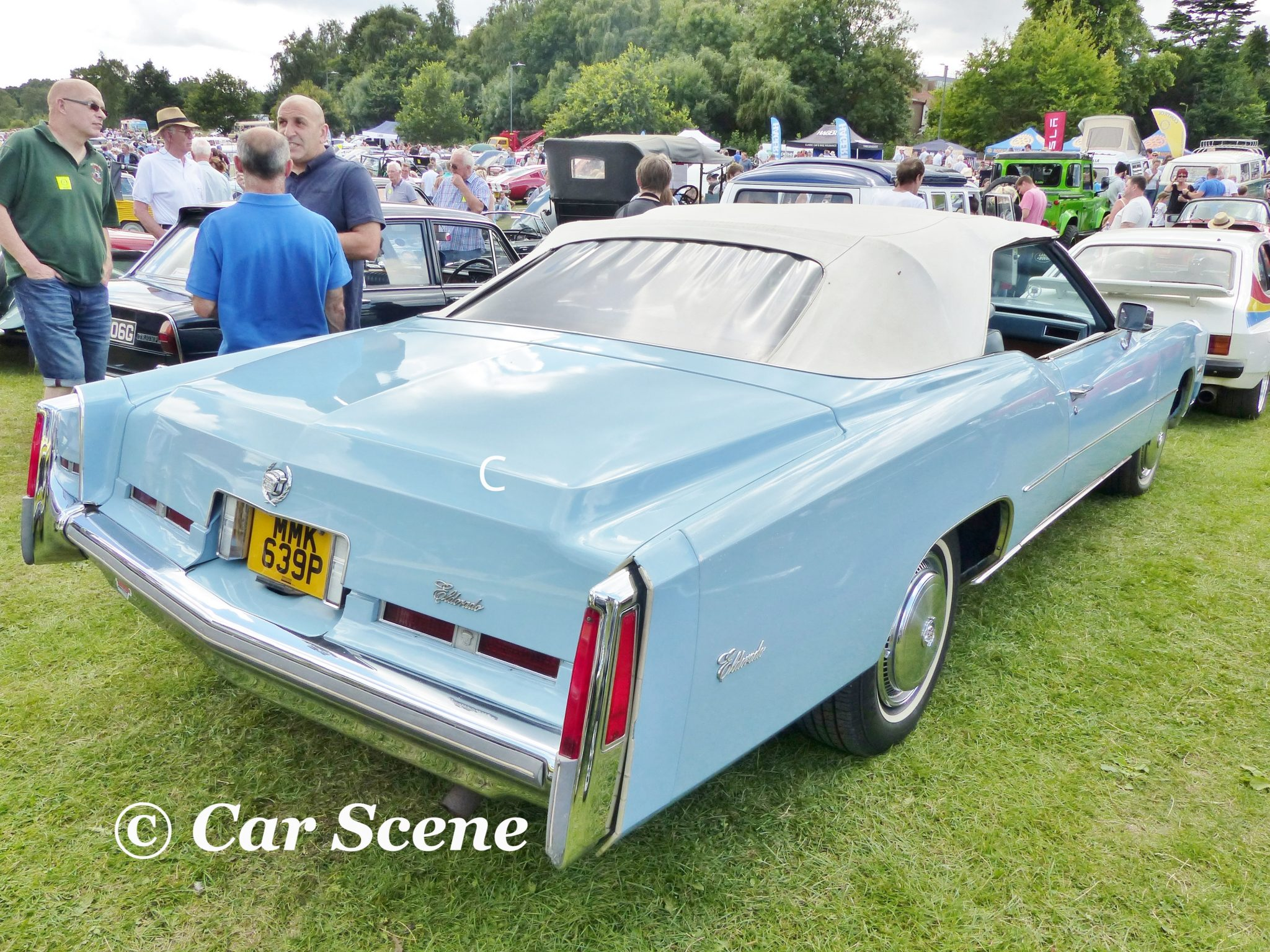 1975 Cadillac Eldorado rear three quarters view