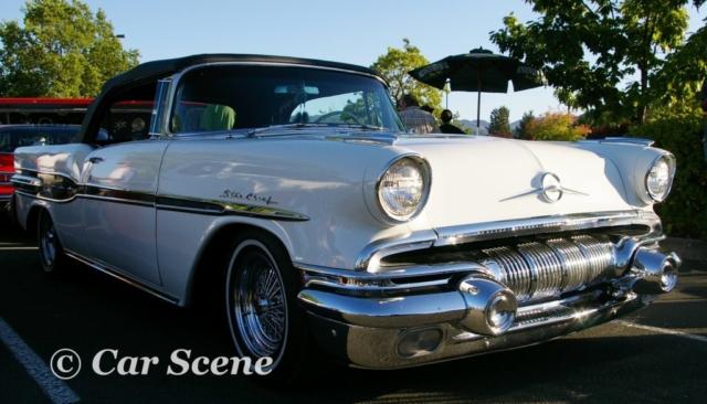 1957 Pontiac Star Chief Convertible front three quarters view