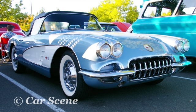 1959 Chevrolet Corvette front three quarters view