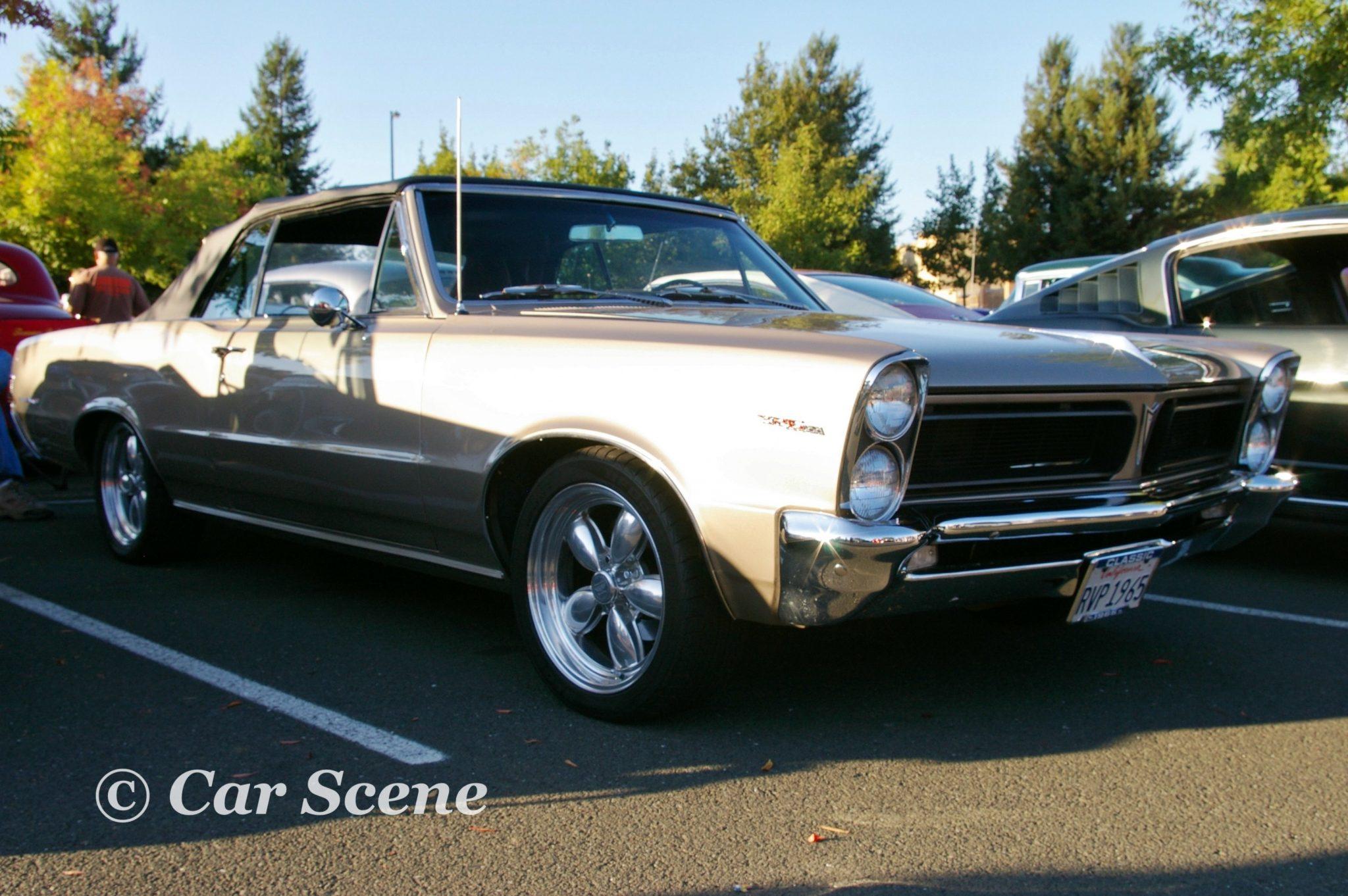 1965 Pontiac tempest Convertible front three quarters view