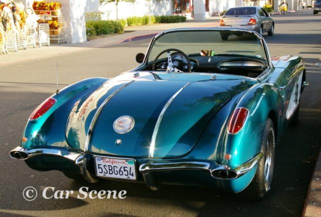1958 Chevrolet Corvette rear view