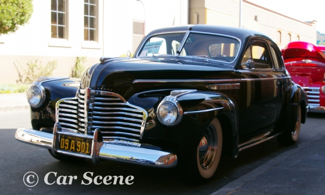 1941 Buick Sedanette front three quarters view