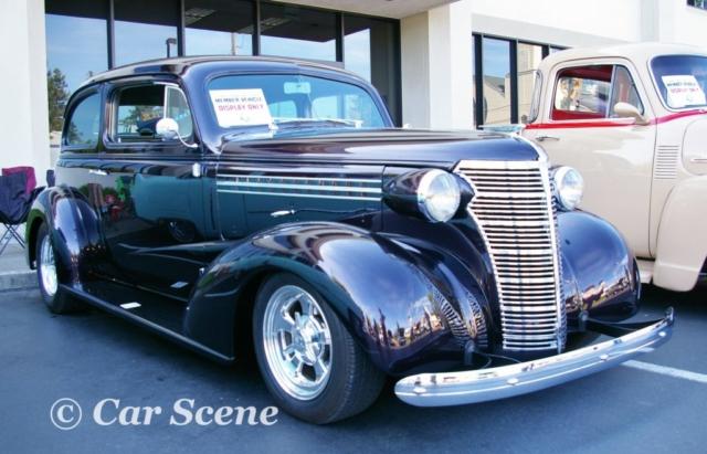 1938 Chevrolet 2 Door Sedan front three quarters view