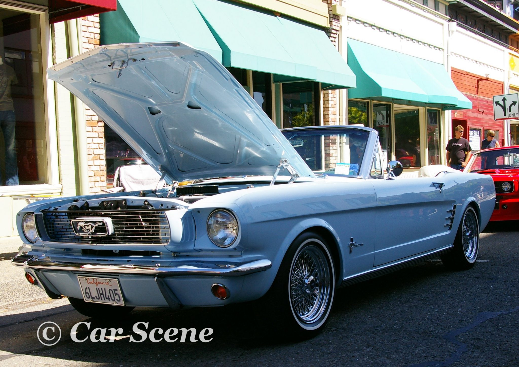 1964 Ford Mustang convertible front three quarters view