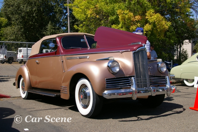 1942 Packard Convertible front three quarters view