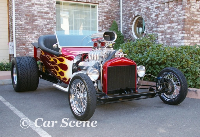 Californian Ford based Hot Rod front view