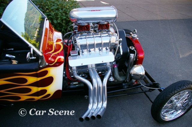 Californian Ford based Hot Rod Engine view