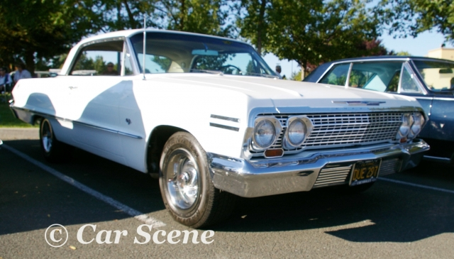 1963 Chevrolet Impala Coupe front three quarters view