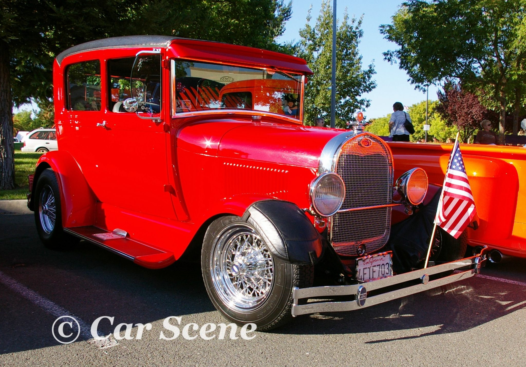 Ford Model A Customised front three quarters view
