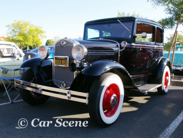 1928 Ford Model A front three quarters view