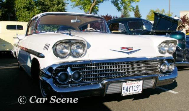 1958 Chevrolet Impala 2 door hardtop front view