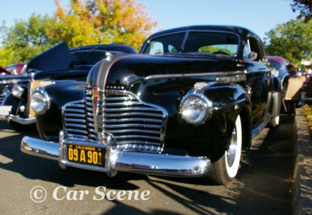 1941 buick Eight Sedanette front view