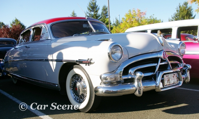 1952 Hudson Hornet front three quarters view