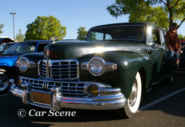 1948 Lincoln Coupe front three quarters view