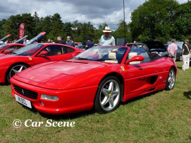 c 1998 Ferrari 355 Spider front side view