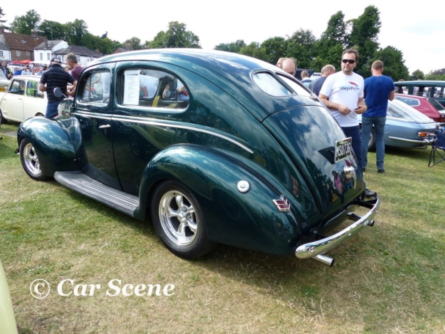 1940 Ford 2 Door De Luxe Customised rear side view