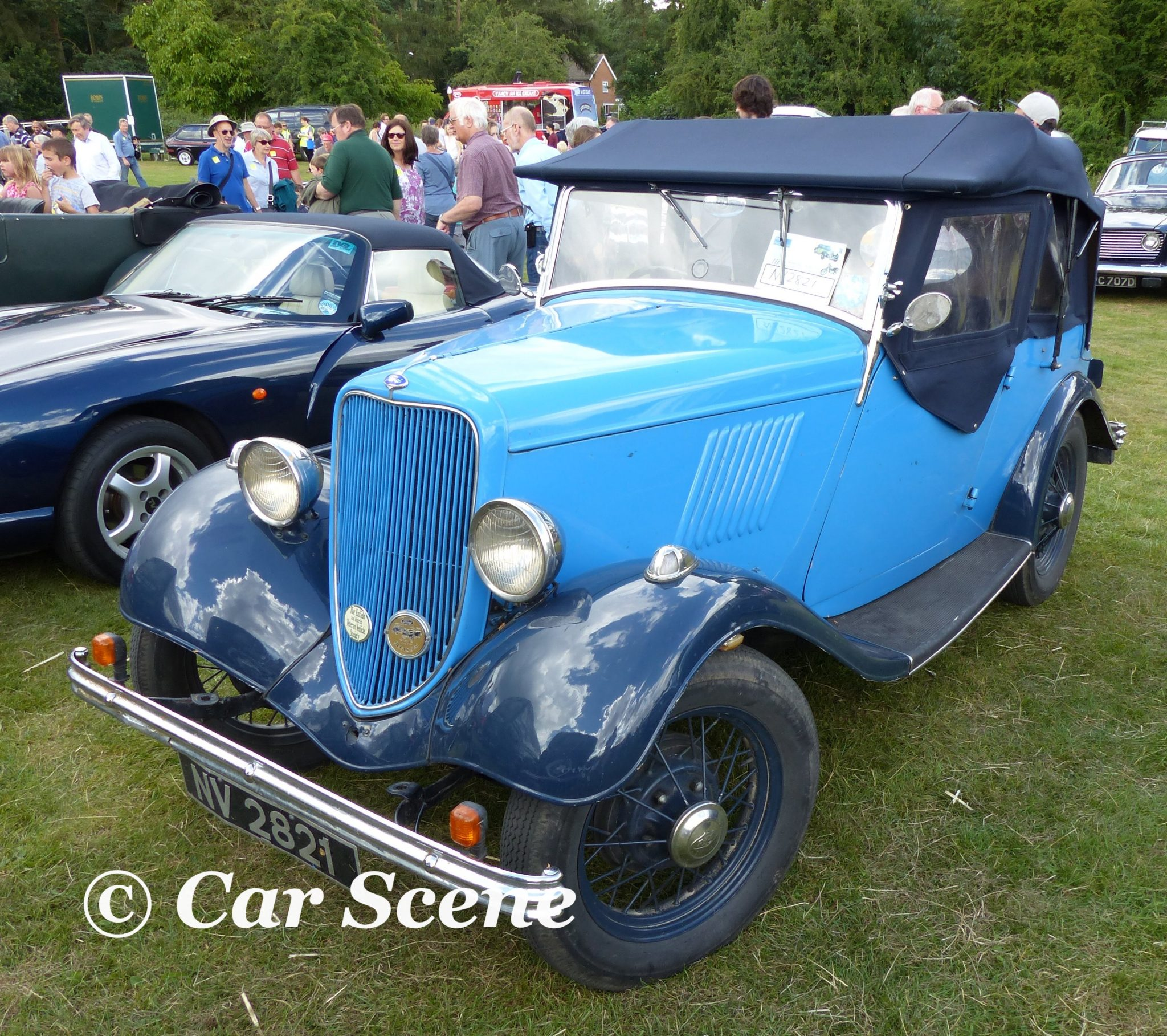 c.1934 Ford Model Y Tourer front  front three quarters view