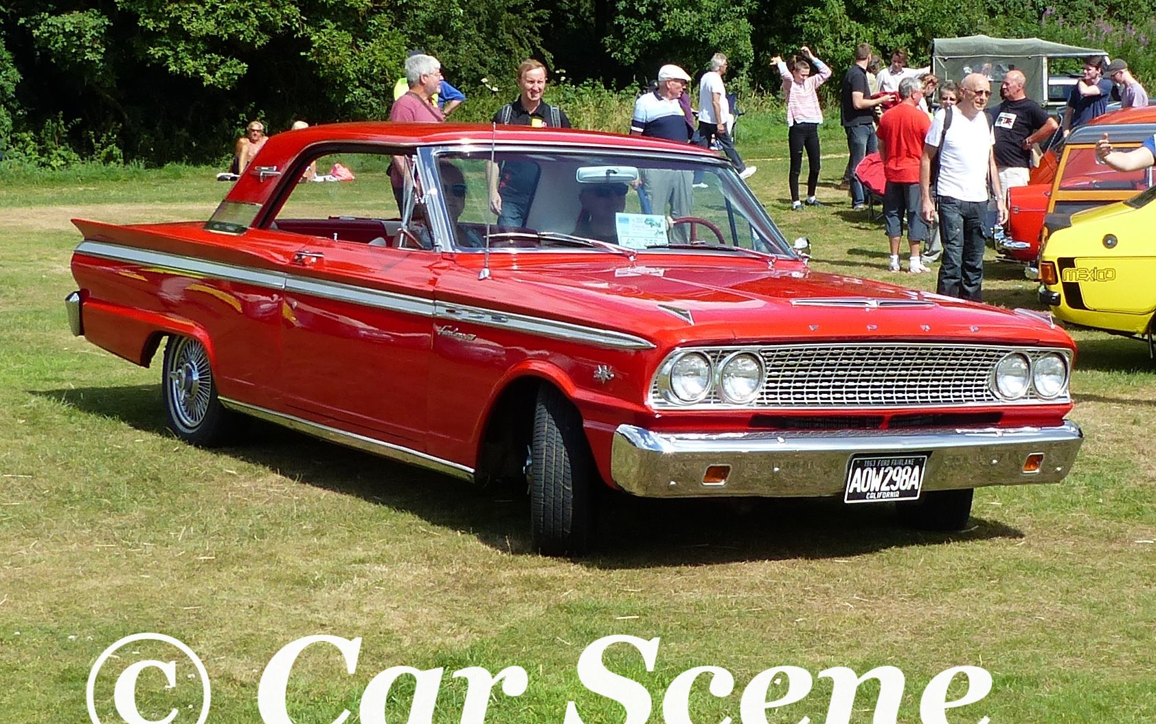 1963 Ford Falcon GT 2 Door in motion
