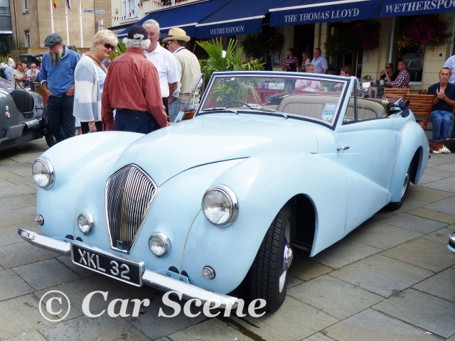 1952 Healey Abbot drop head  front three quarters view