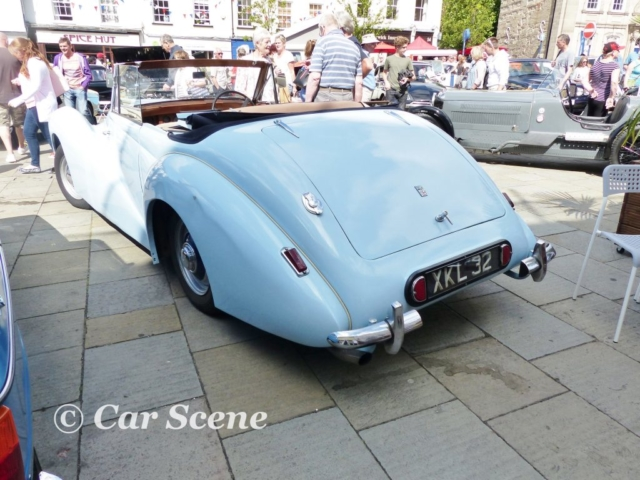 1952 Healey Abbot drop head  rear three quarters view