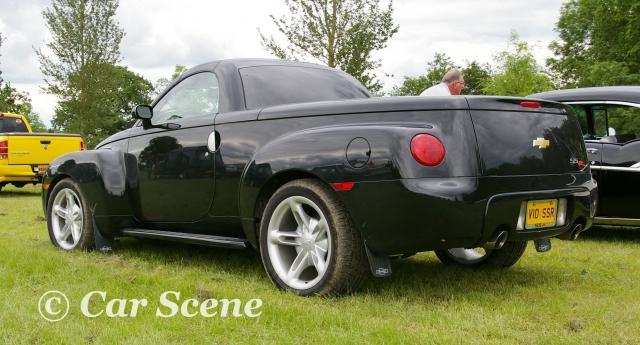 2005 Chevrolet Super Sports Roadster rear three quarters view