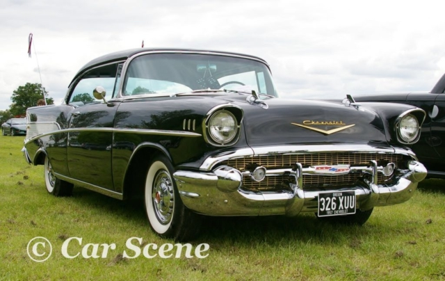 1957 Chevrolet Bel Air front view