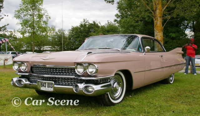 1959 Cadillac Coupe De Ville front three quarters view