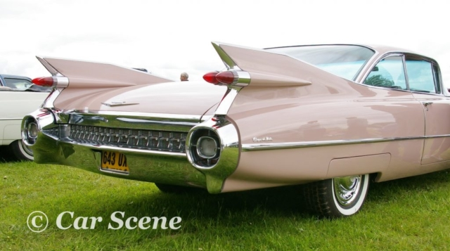 1959 Cadillac Coupe De Ville rear quarter view