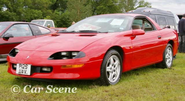 1997 Chevrolet Camaro front three quarters