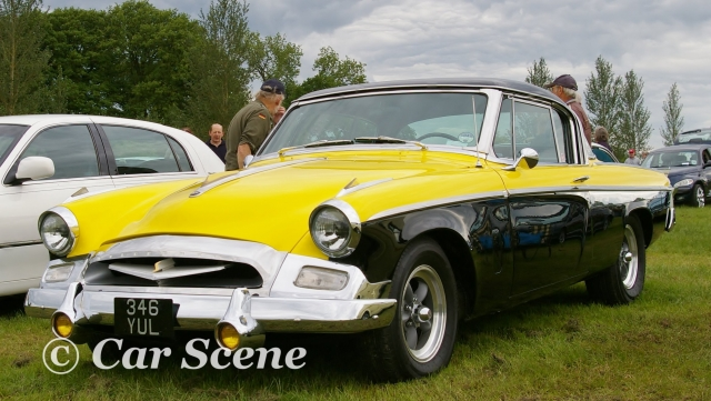 1955 Studebaker President front three quarters view
