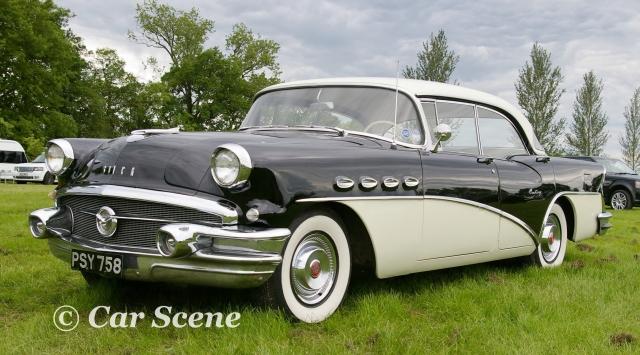 1955 Buick Century 2 Door front three quarters view