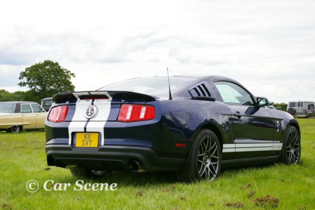 2005 Ford Mustang GT500 rear three quarters view