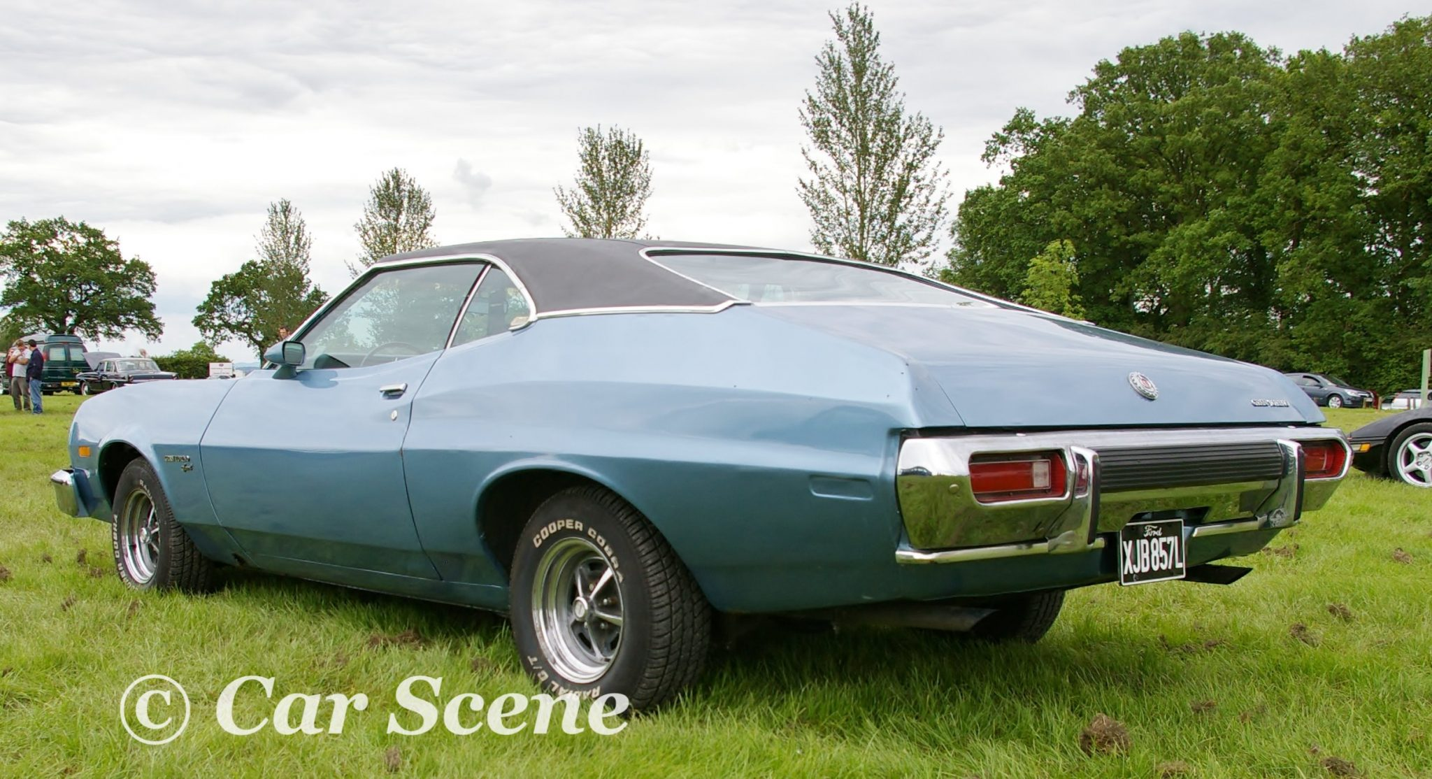 1972 Ford Gran Torino Sport rear three quarter view