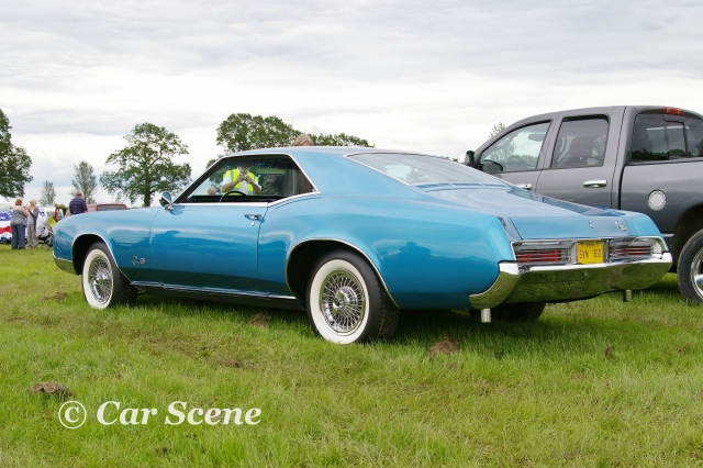 1968 Buick Riviera rear three quarters view