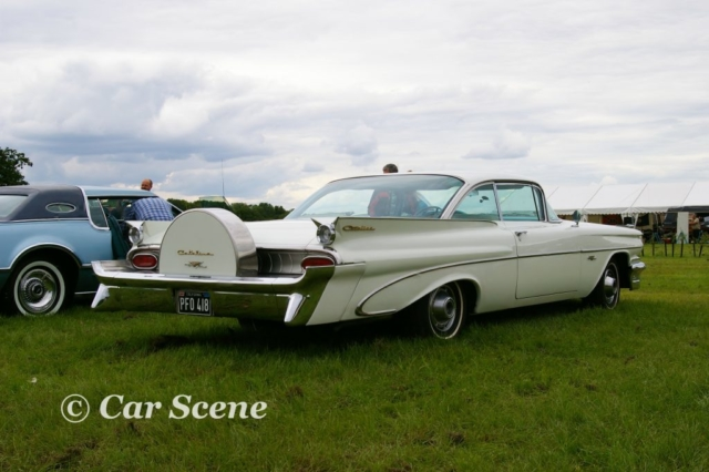 1959 Pontiac Catalina Coupe rear three quarters view