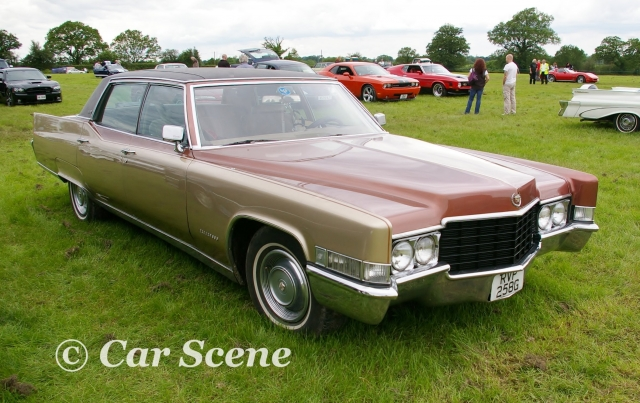 1969 Cadillac Deville front three quarters view