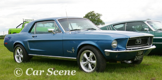 1968 Ford Mustang front side view