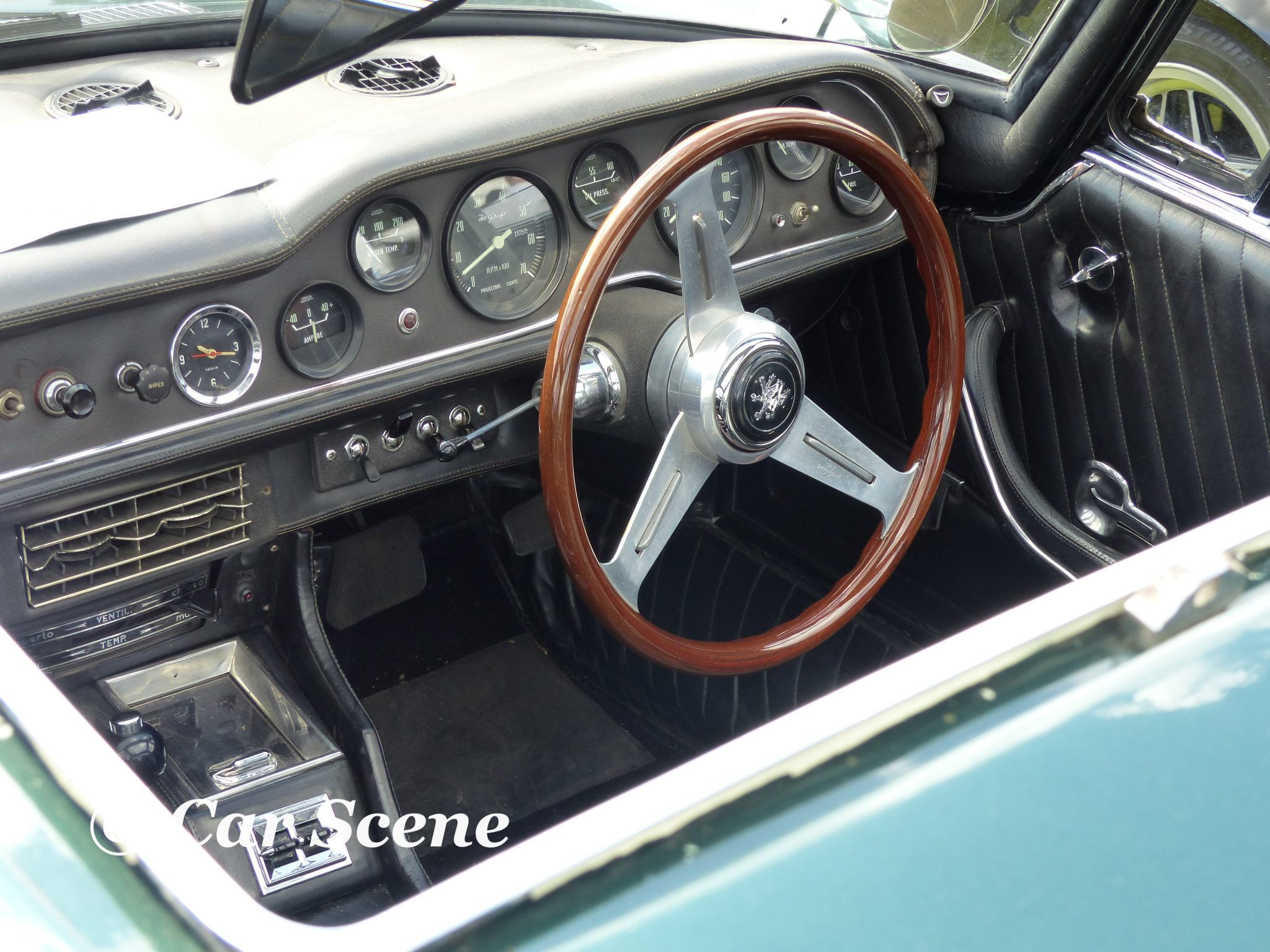 c.1968 Iso Griffo cockpit view