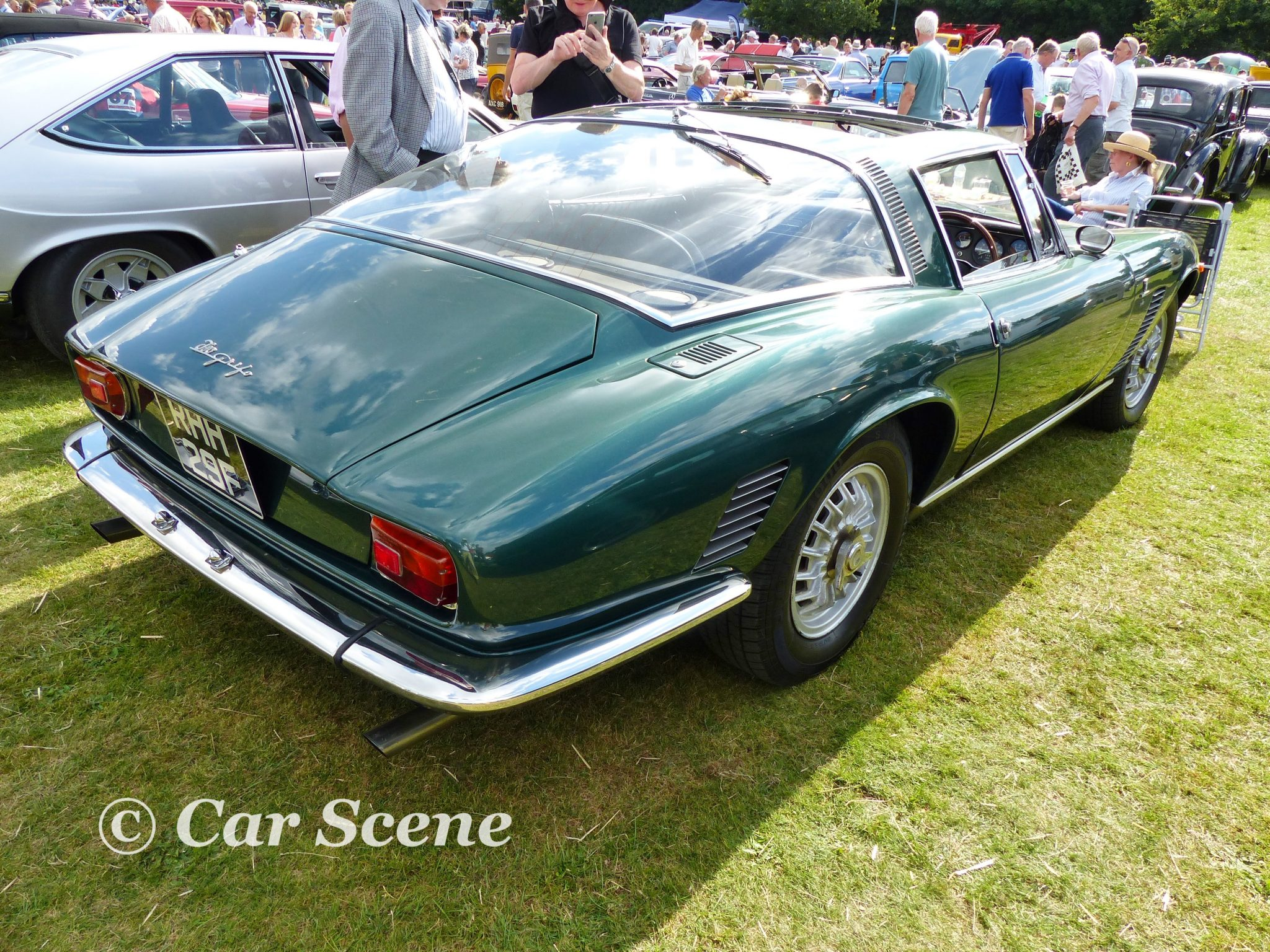 c.1968 Iso Griffo rear three quarters view