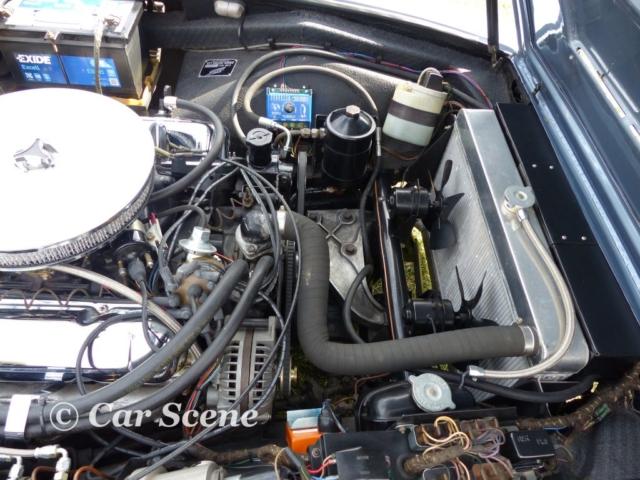 c 1968 Jensen FF Engine Bay view
