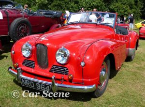 Jowett Jupiter at the Classic on the Common Harpenden